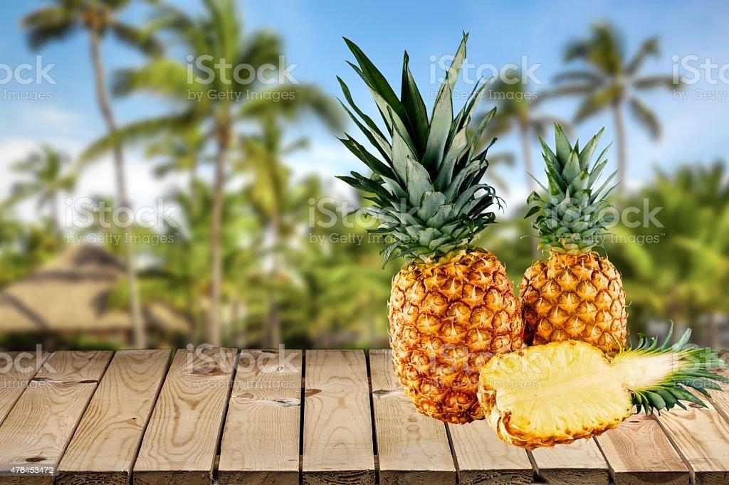 Pineapple, Fruit, Isolated stock photo