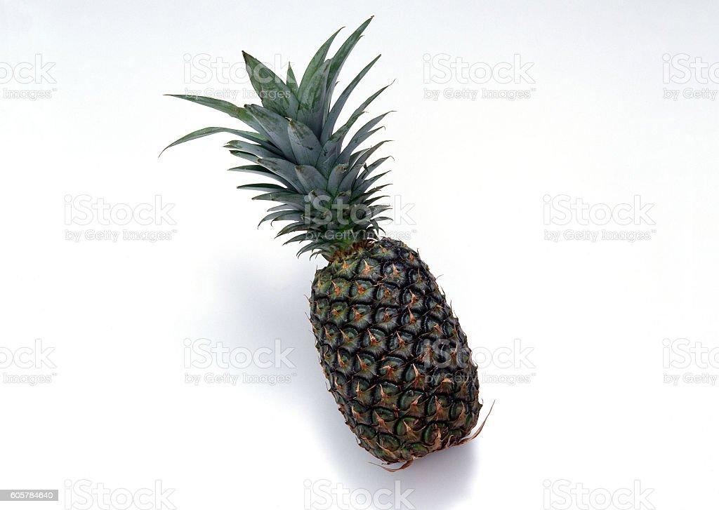 Pineapple isolated on white background stock photo