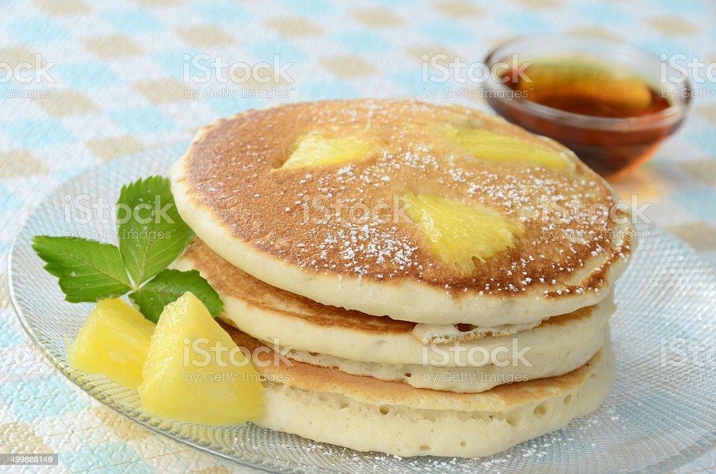Pineapple Pancakes royalty-free stock photo