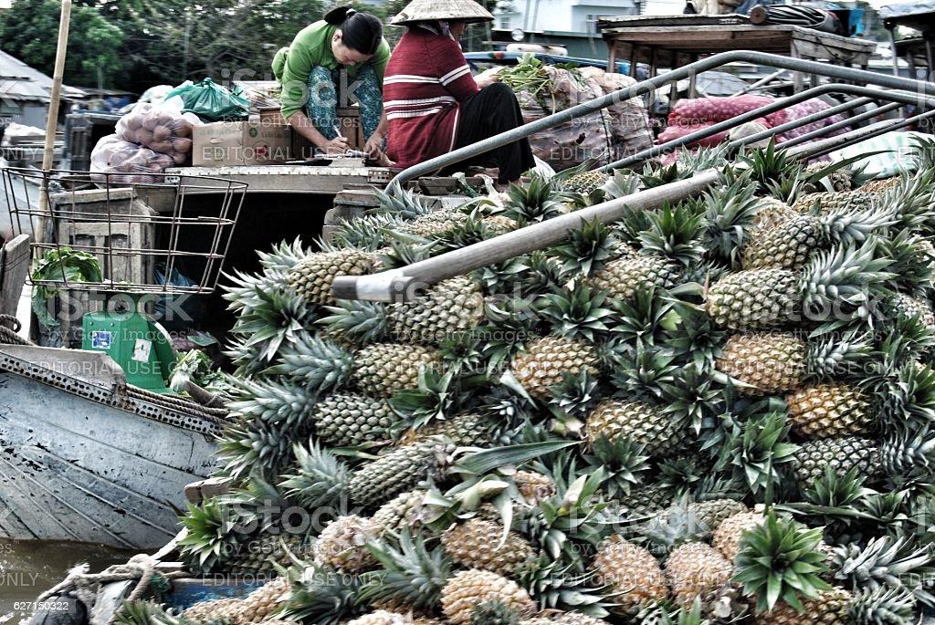 Ananas  foto stock royalty-free
