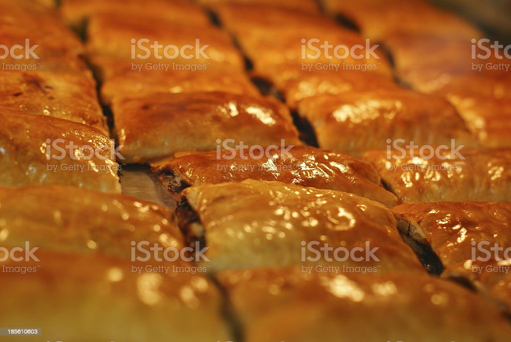 pineapple pie, bakery royalty-free stock photo
