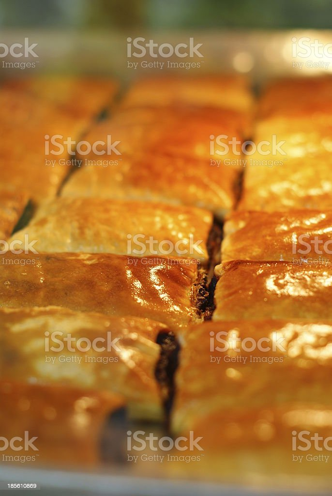 pineapple pie, bakery royalty-free stock photo