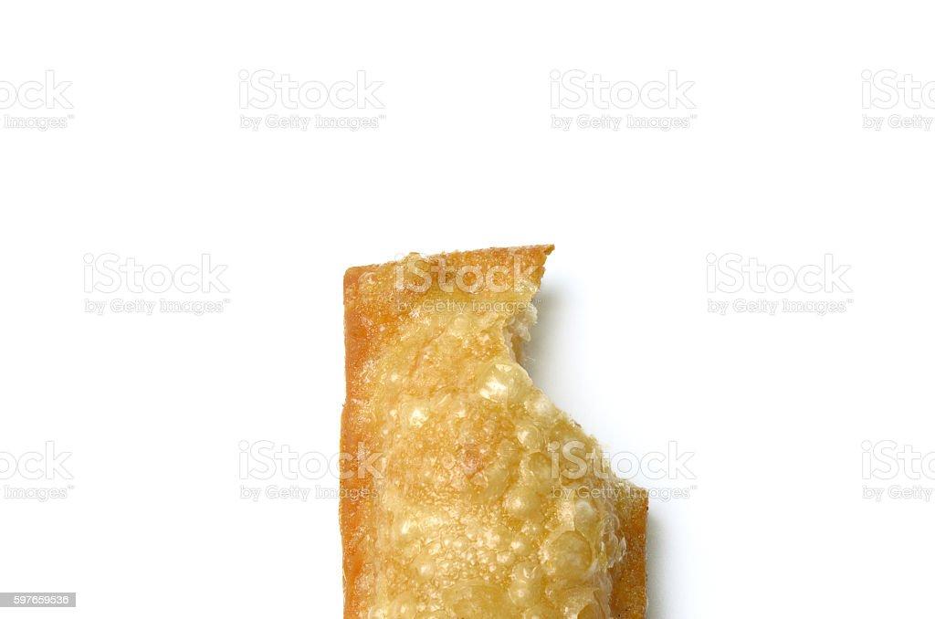 pineapple pie stock photo