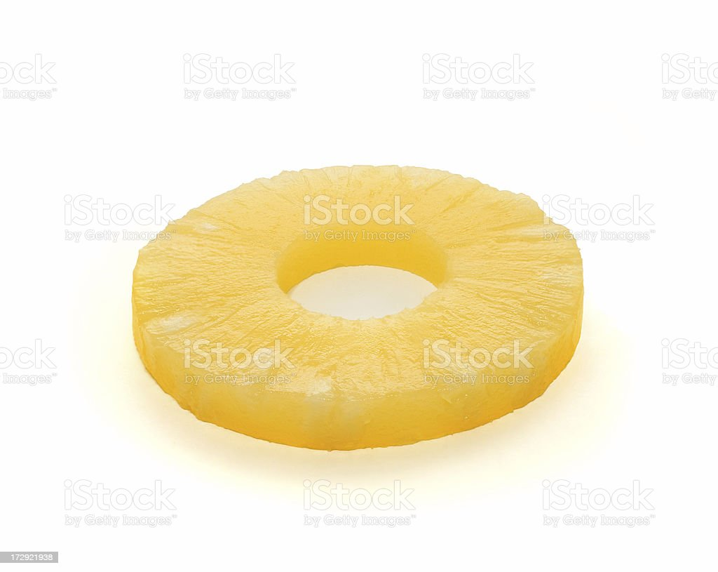 pineapple ring request stock photo