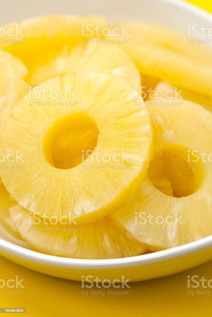 Pineapple Rings royalty-free stock photo