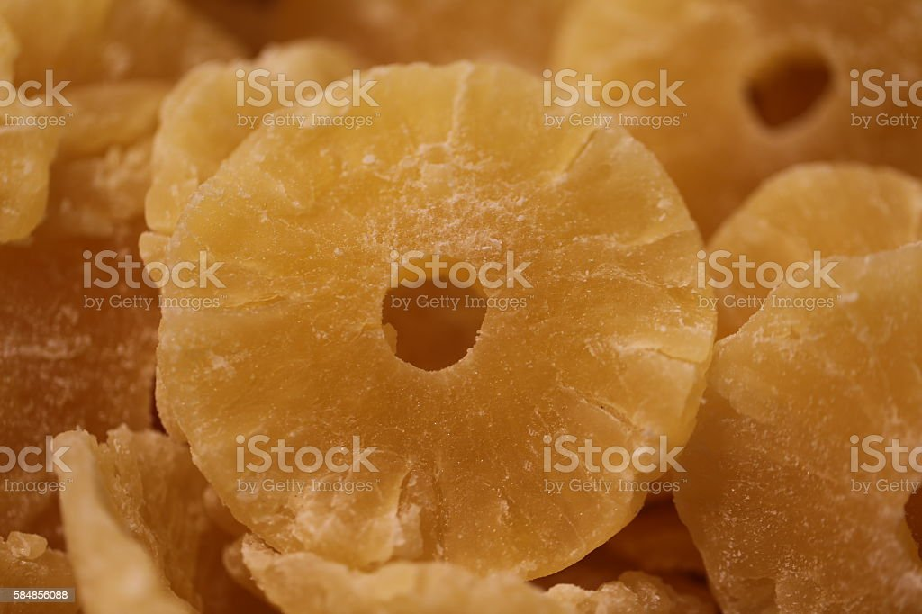 Pineapple Slices, Pineapple Rings stock photo