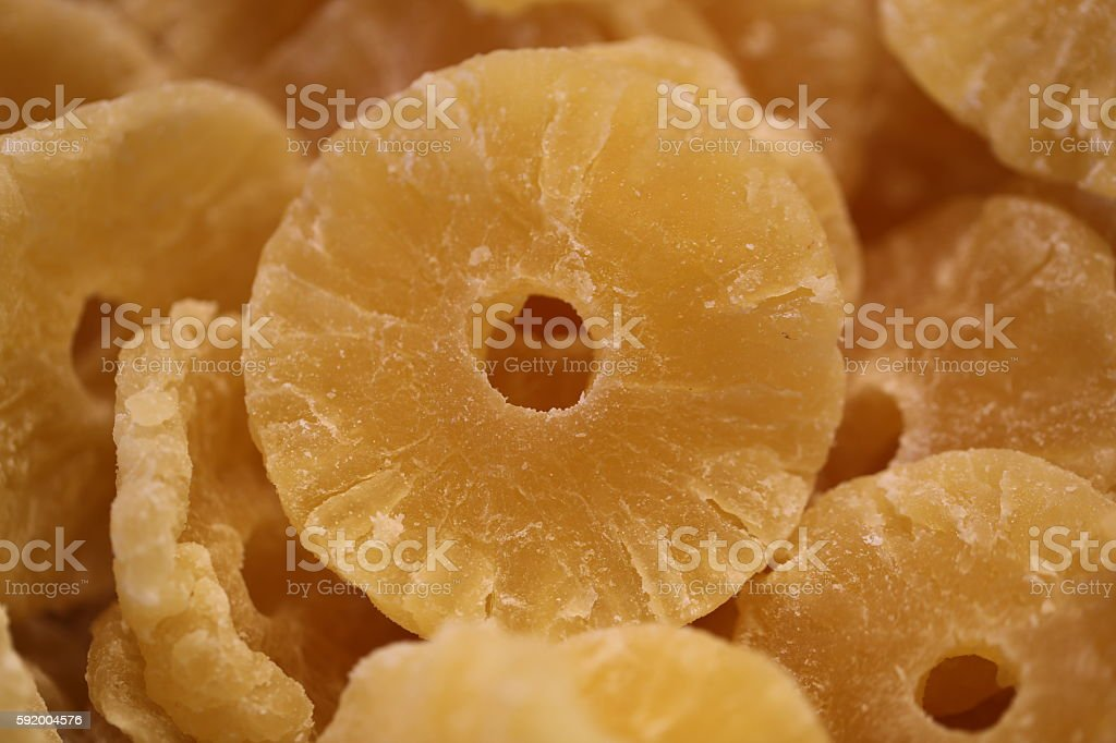 Pineapple Slices, Pineapple Rings. stock photo