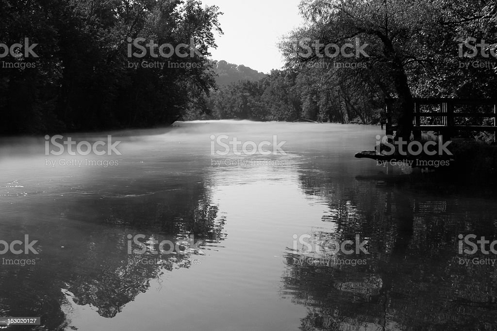 Piney River in summer stock photo