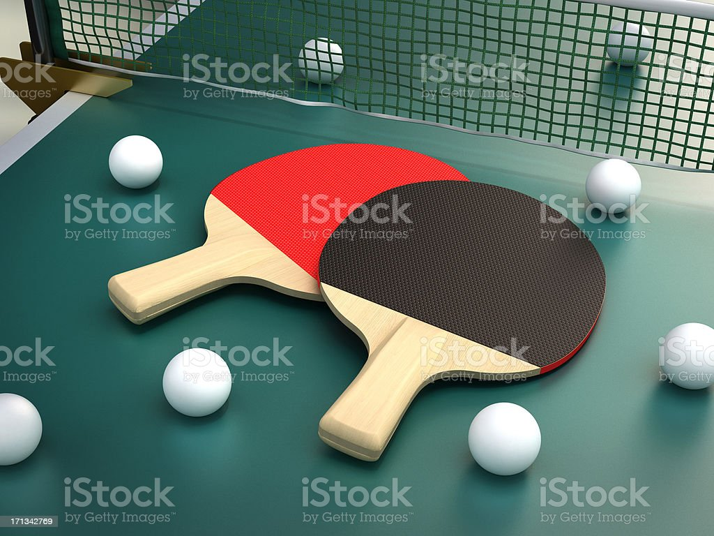 Ping pong royalty-free stock photo