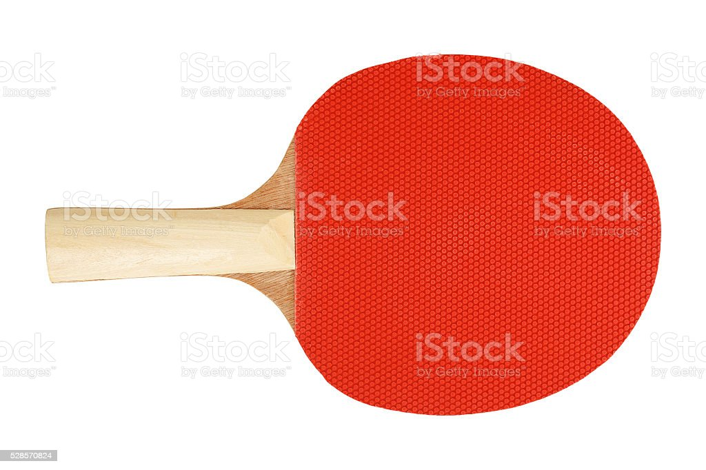 ping pong racket stock photo