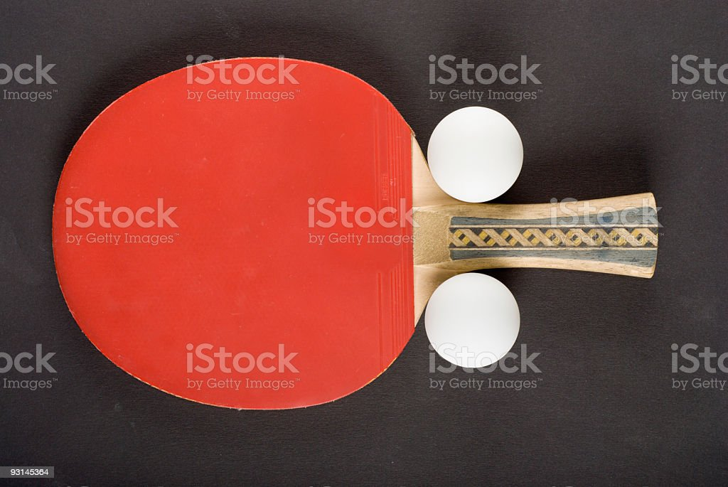 ping-pong equipment royalty-free stock photo