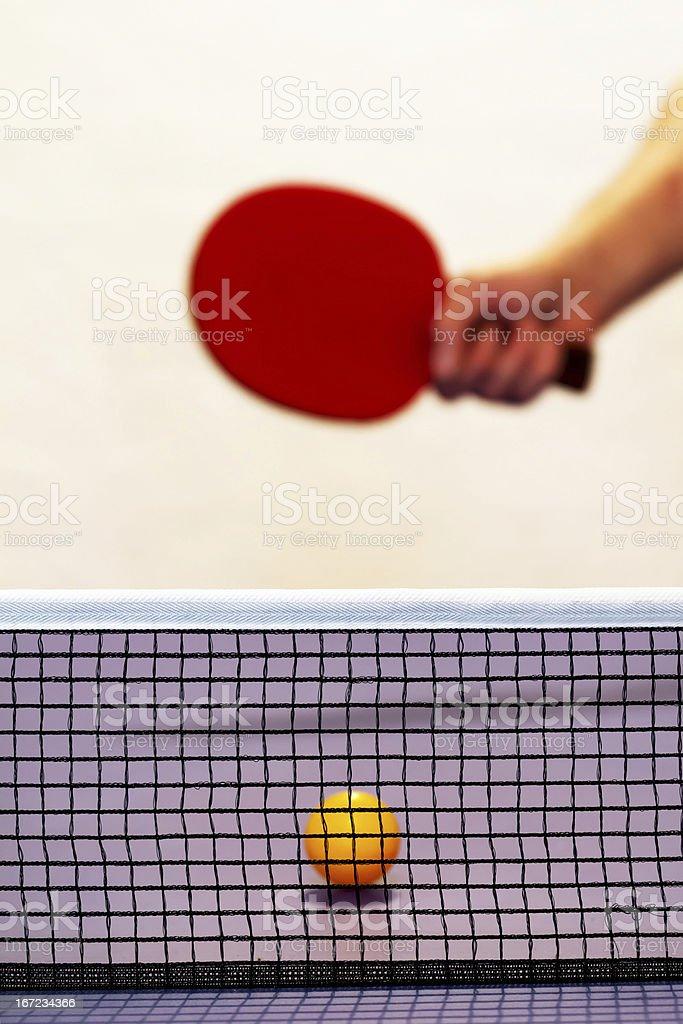 Ping-pong royalty-free stock photo