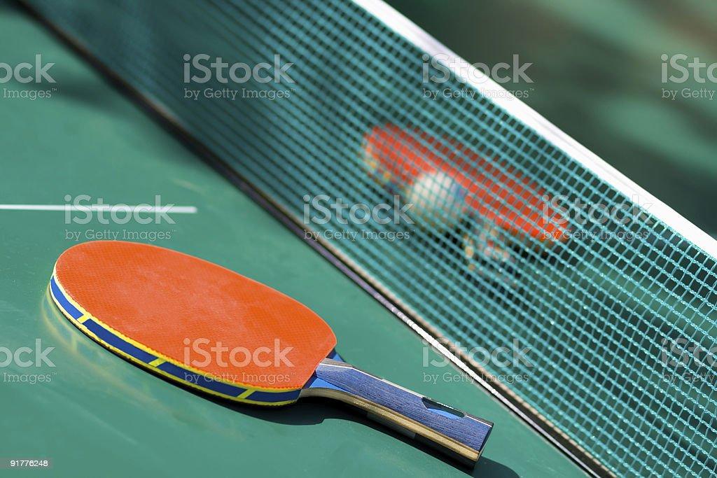 ping-pong stock photo