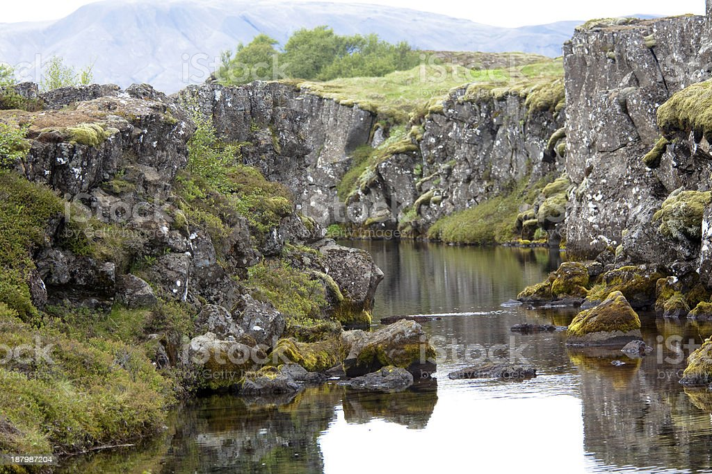 Pingvellir national park royalty-free stock photo
