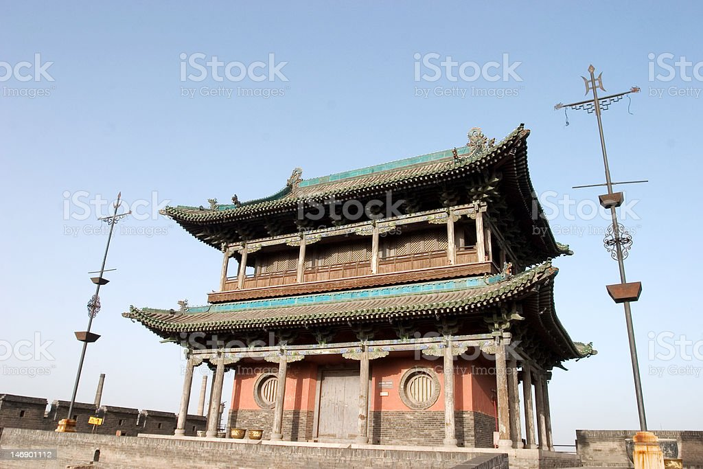 Pingyao royalty-free stock photo