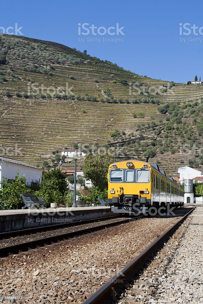 Pinhão Railway Station stock photo