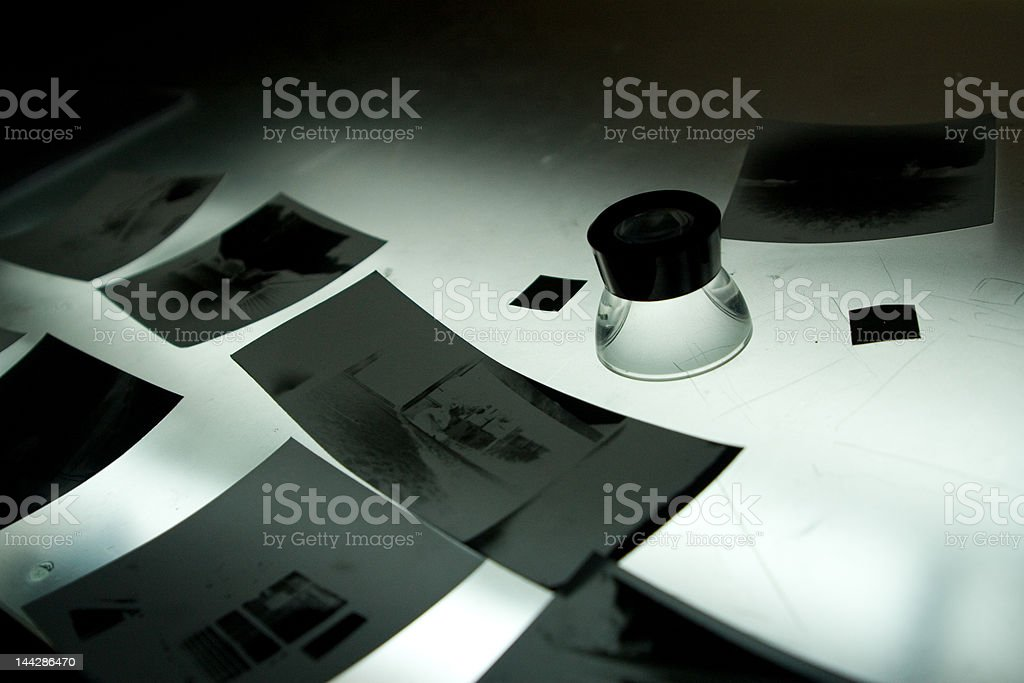 pinhole photography stock photo