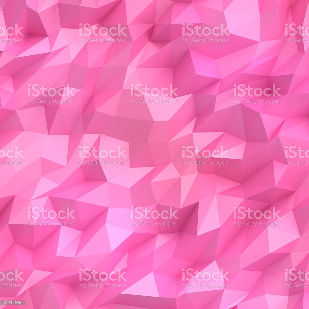 Pink 3D Mosaic stock photo
