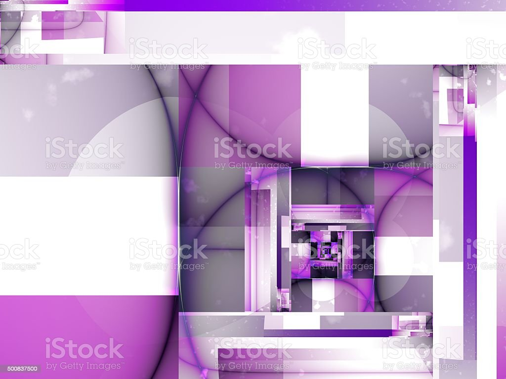 Pink Abstract City Design stock photo