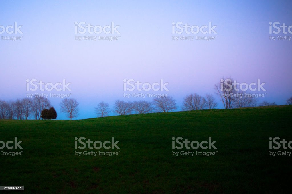Pink and Blue stock photo