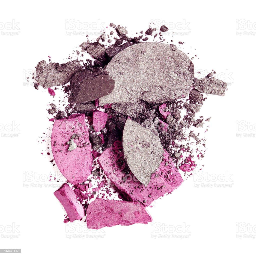 Pink and Maroon Eyeshadow royalty-free stock photo