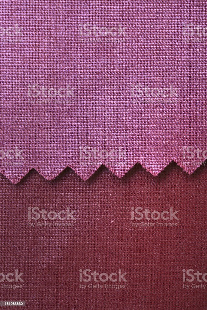 Pink and Purple Fabric Swatch Background royalty-free stock photo