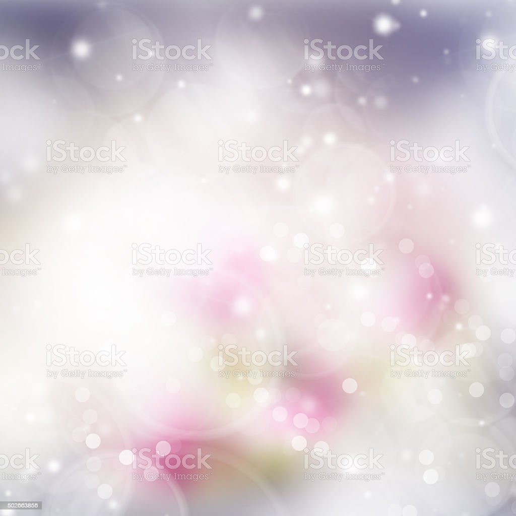 Pink and violet   bokeh background stock photo