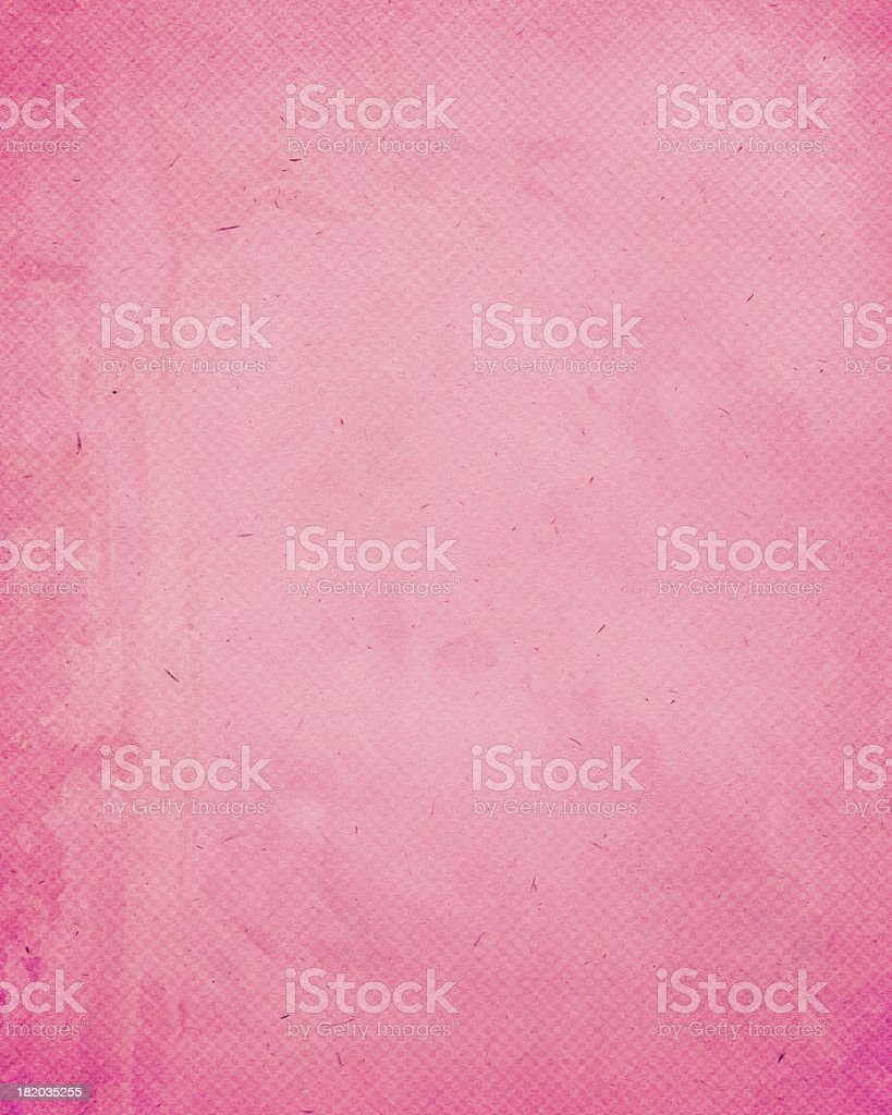 pink antique paper with halftone stock photo