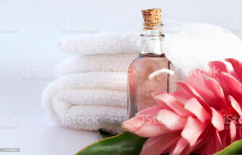 pink aromatherapy royalty-free stock photo