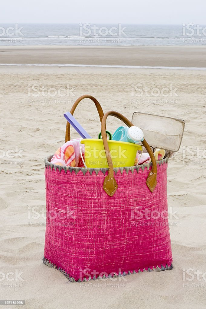 Pink bag 2 royalty-free stock photo