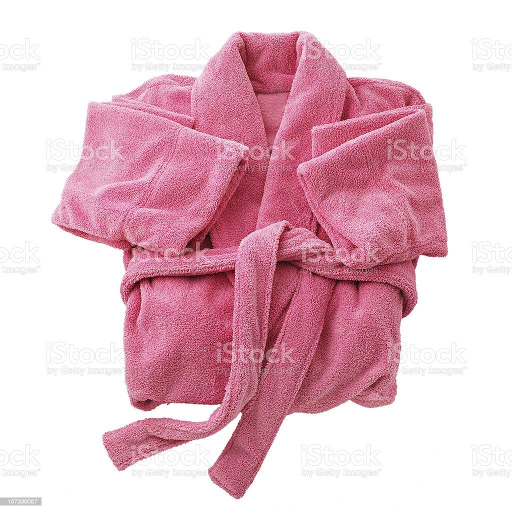 Pink Bathrobe royalty-free stock photo