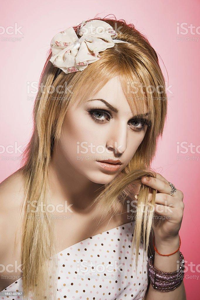 Pink Schönheit Lizenzfreies stock-foto