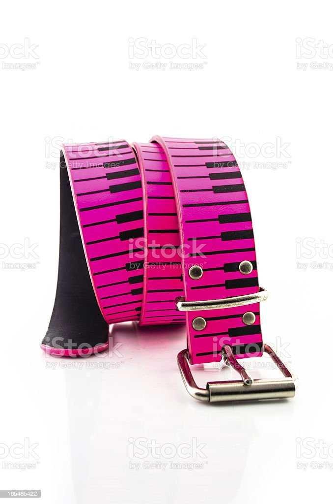 pink belt royalty-free stock photo