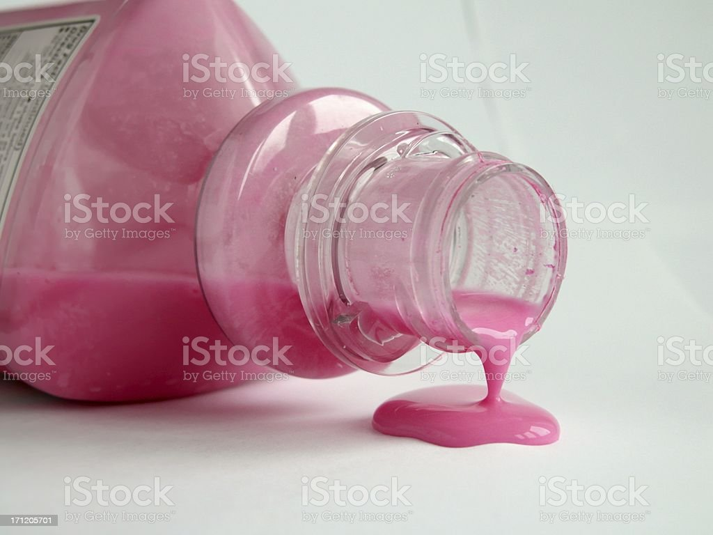 Pink bismouth stock photo