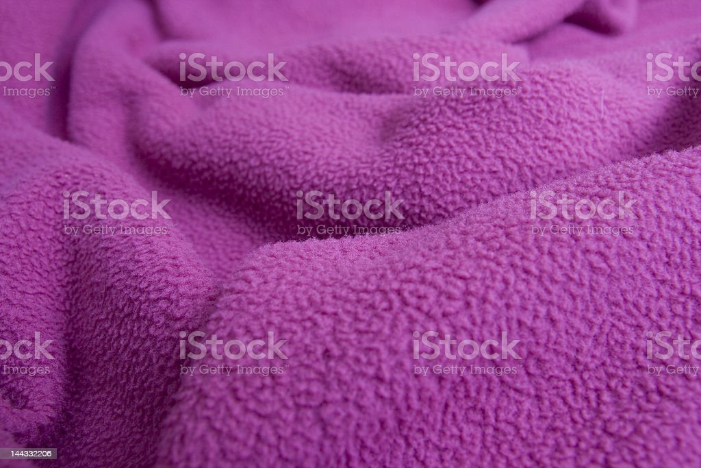 Pink blanket royalty-free stock photo