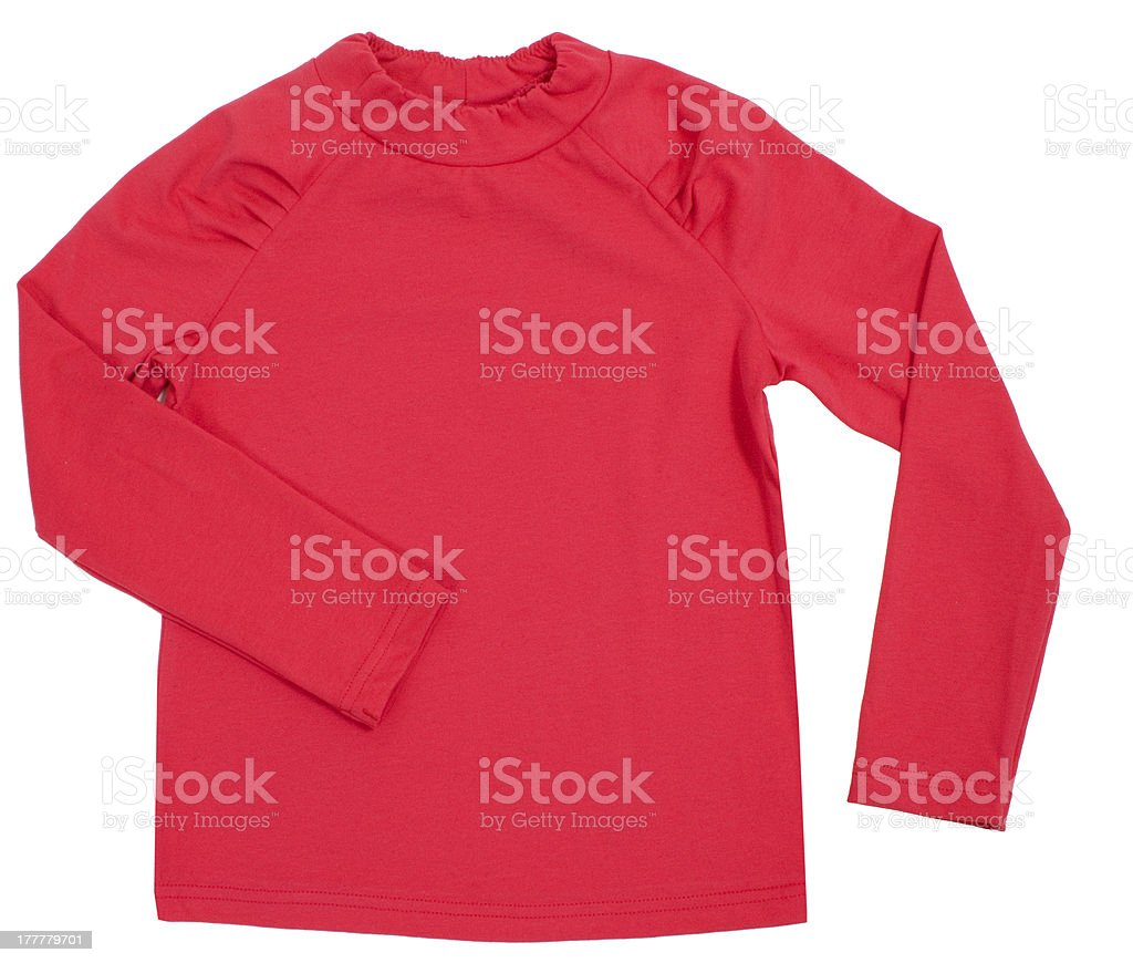Pink blouse royalty-free stock photo