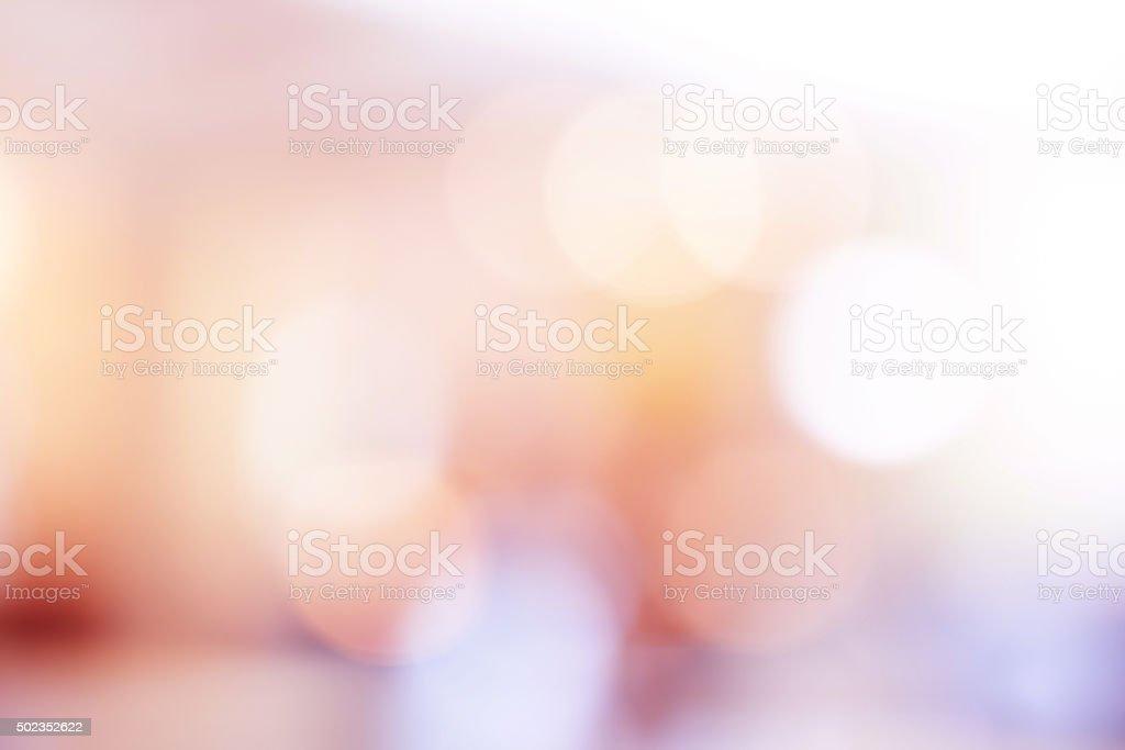 Pink bokeh light background. stock photo