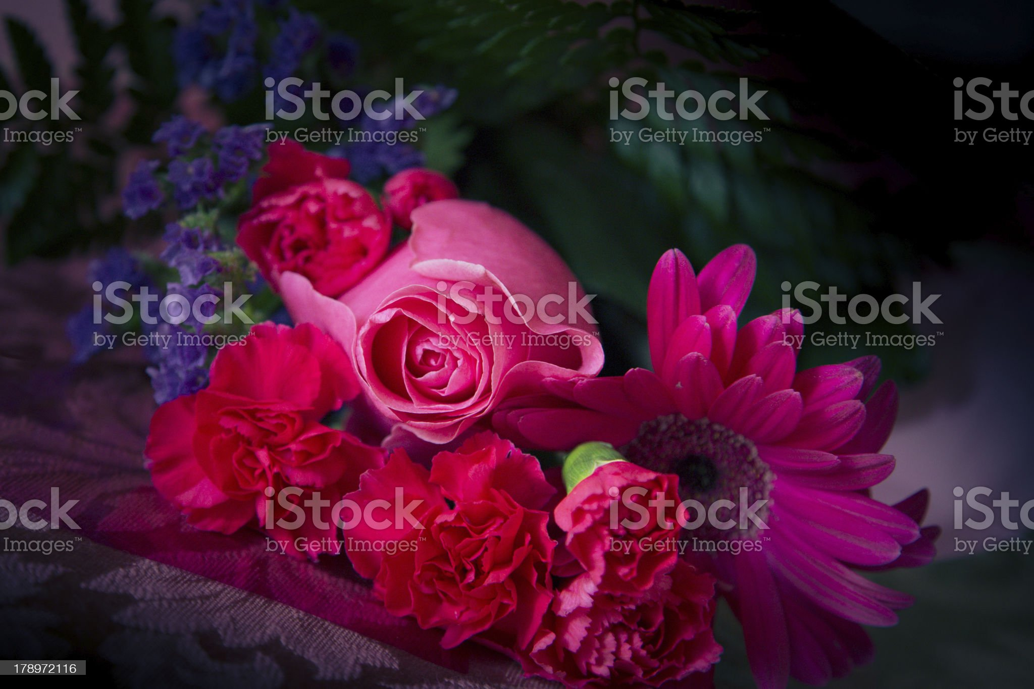 Pink Bouquet royalty-free stock photo