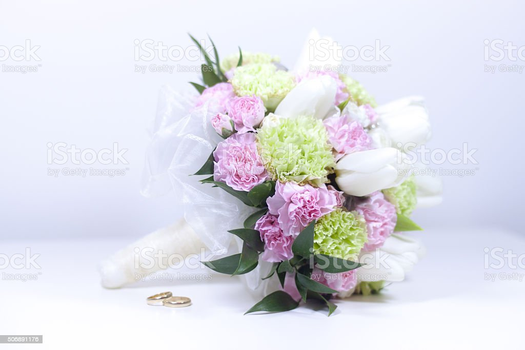 Pink Bouquet - Stock Image stock photo
