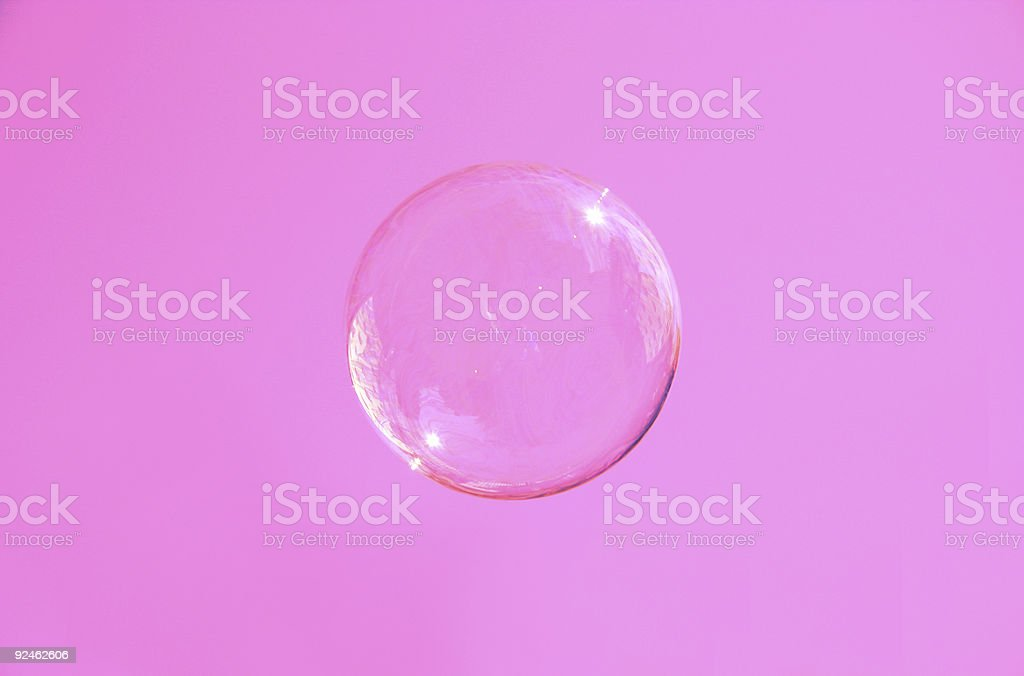 pink bubble royalty-free stock photo