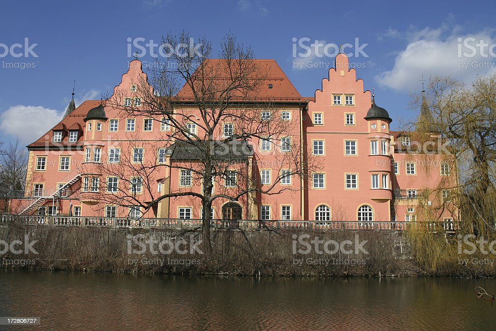 Pink Castle royalty-free stock photo