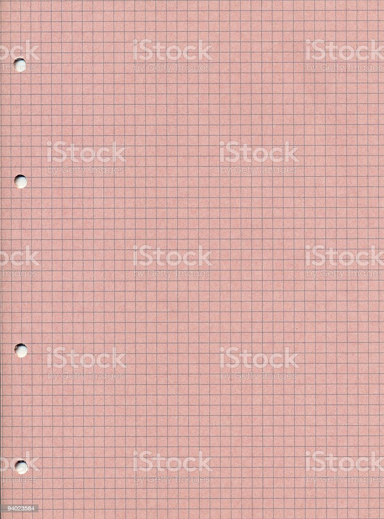 pink checkered paper royalty-free stock photo