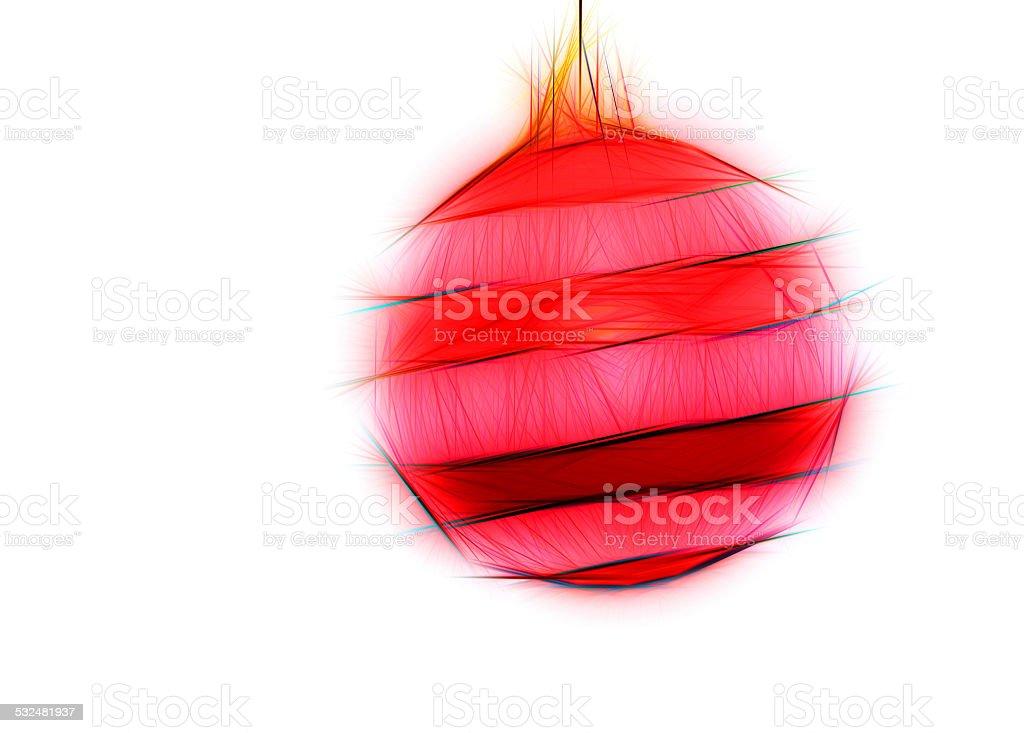 pink Christmas ball modern stock photo