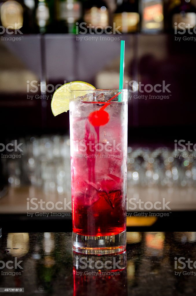 Pink Cocktail stock photo