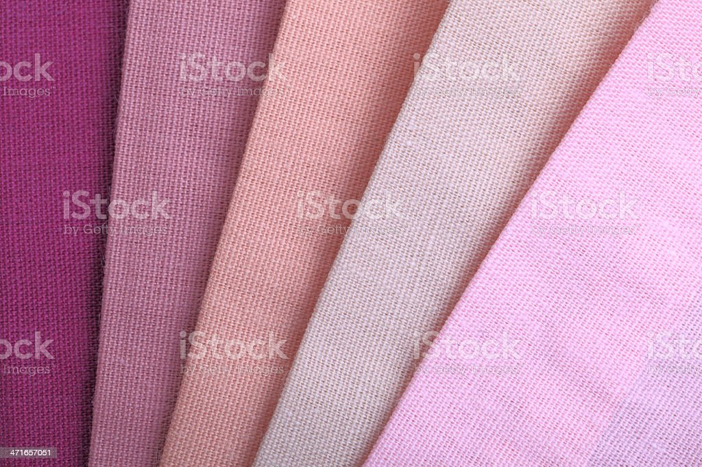 Pink Color Range royalty-free stock photo