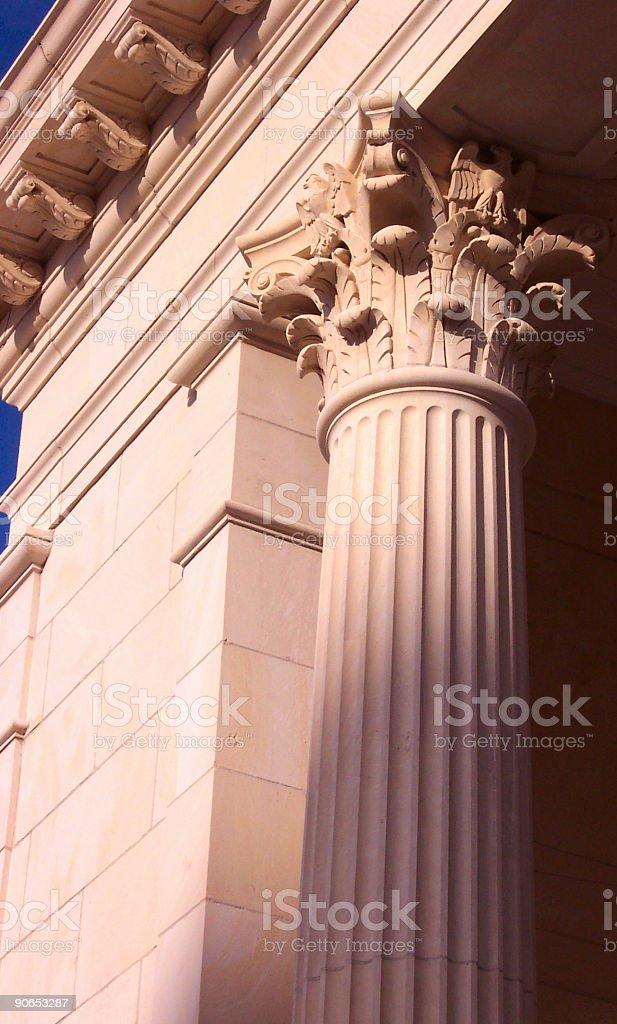Pink Column 2 royalty-free stock photo
