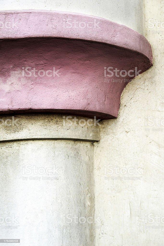 Pink Column royalty-free stock photo