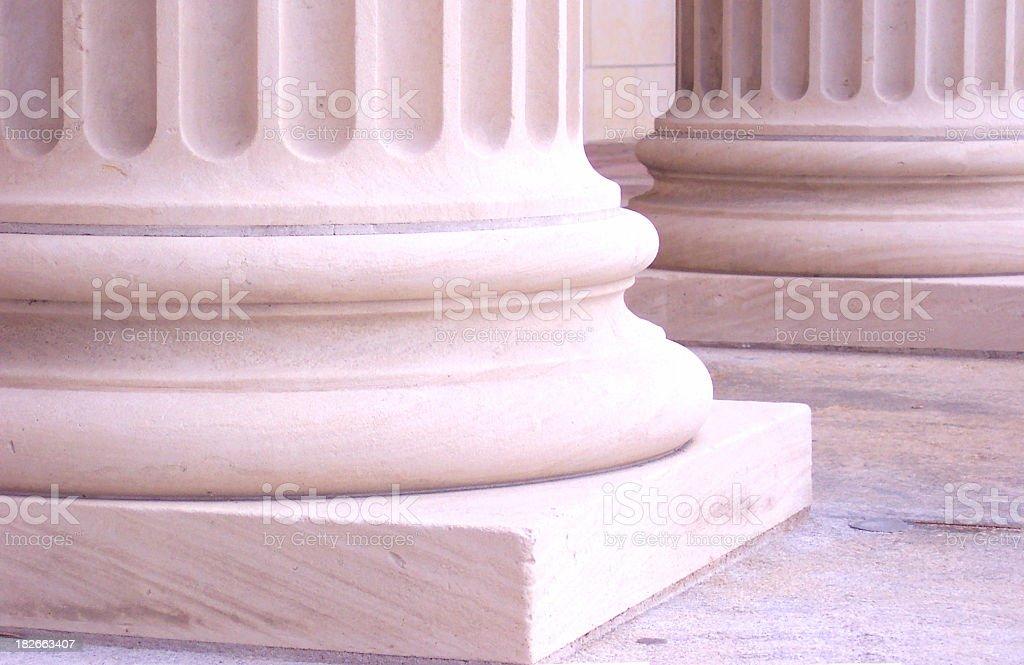 Pink Columns 5 royalty-free stock photo