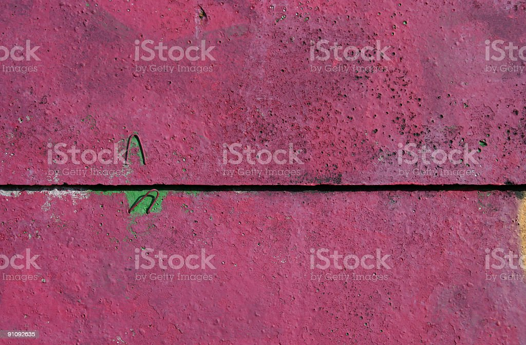 Pink Concrete Wall royalty-free stock photo