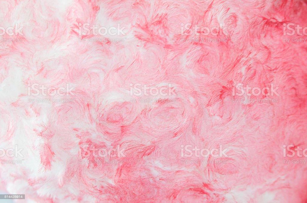 Pink Cotton Wool Texture stock photo